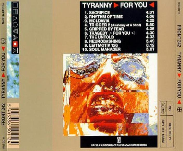 Front 242 - Tragedy >For You< 2