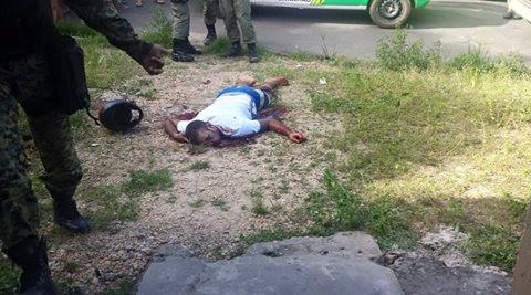 Bandido e morto após tenta assaltar casa  de sagento da policia Militar