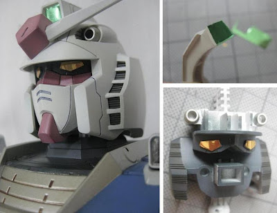 RX-78-02 Gundam The Origin Head Model