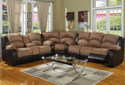 Curved Sofa Leather Sofa