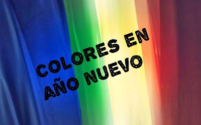 colores en año nuevo