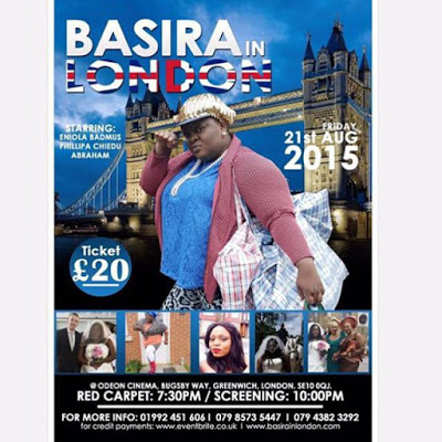 Glitz and Glamour as actress, Eniola Badmus premieres 'Basira In London' (Photos)