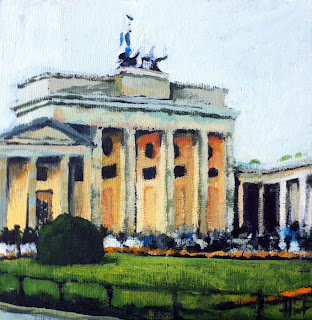 The Brandenburg Gate by Liza Hirst