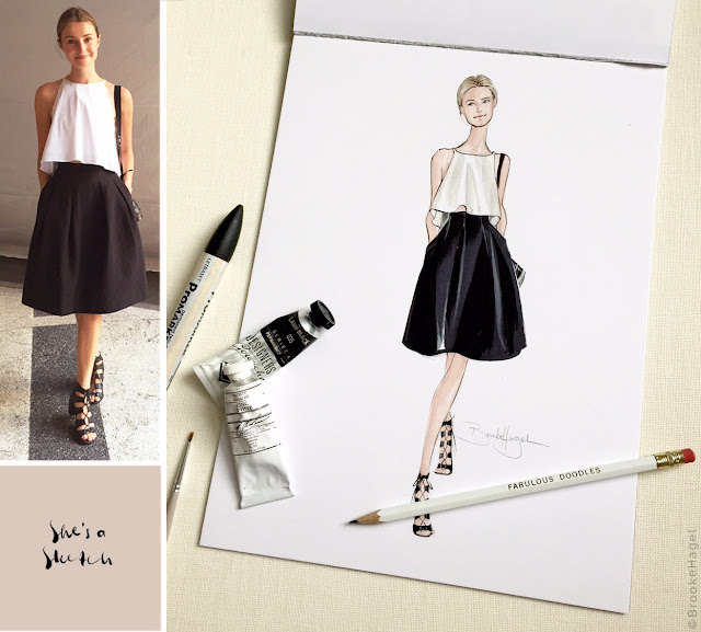 Sprinkle On Glitter blog// My Favorite Fashion Illustrators// Brooke Hagel