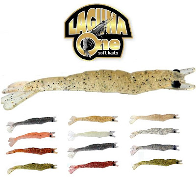 Foto de camarao artificial laguna one soft baits