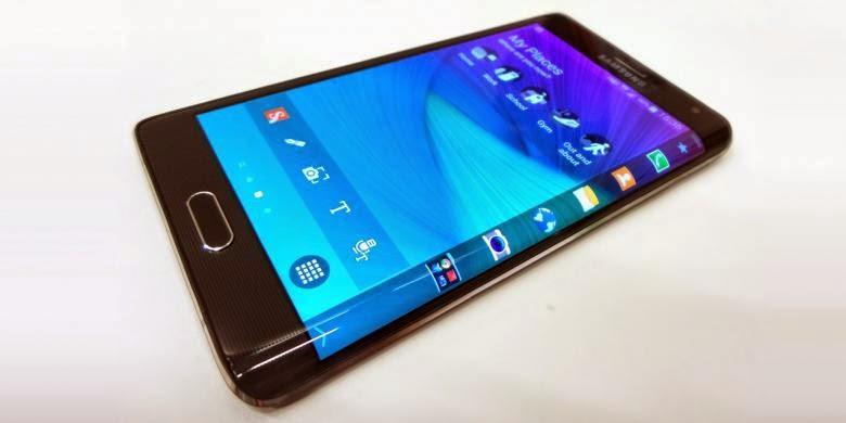 Layar Galaxy S6 Lengkung Dua Sisi?