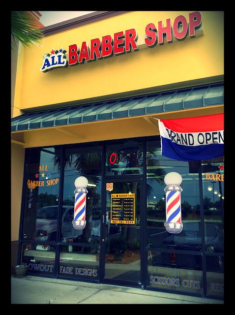All Star Barber Shop- 11229 E. Colonial Drv. Orlando Florida 32817