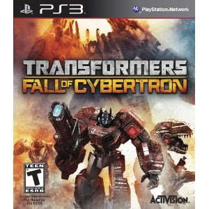 Transformers Fall of Cybertron Release Date PS3