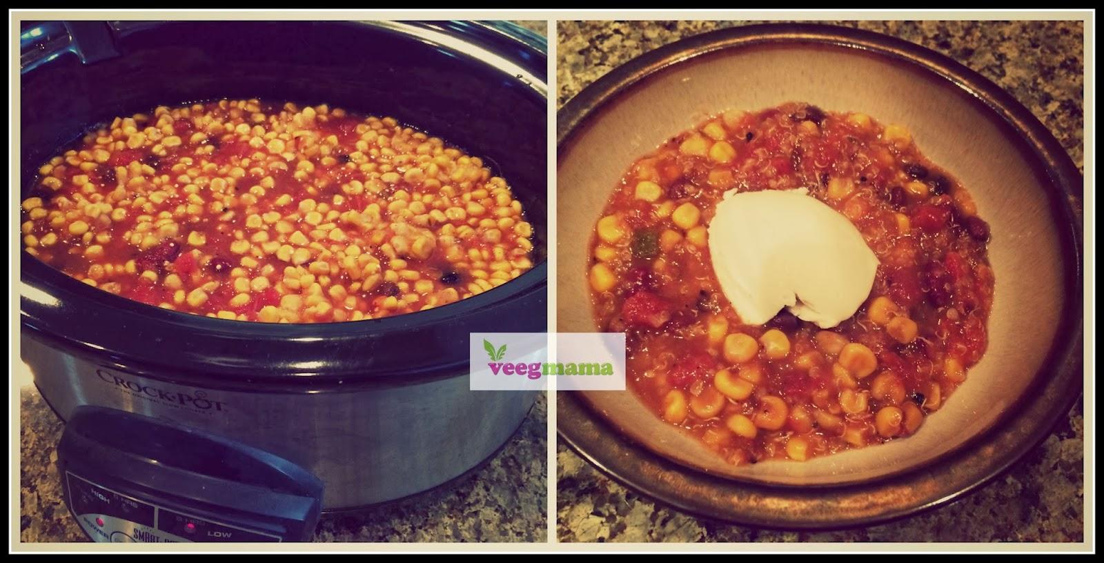 VeegMama's vegan chili recipe