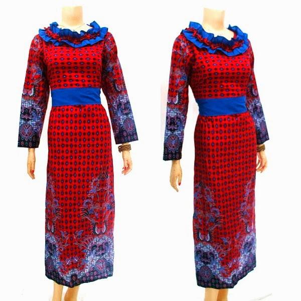 Model Baju Batik Wanita Modern Terbaru 2014 Model Baju