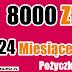 Pożyczka pozabankowa długoterminowa przez internet. Pożyczka TAKTO 8000 zł na 24 miesiące.