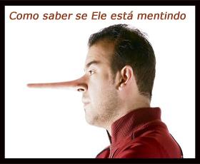 Como saber se um homem está mentindo