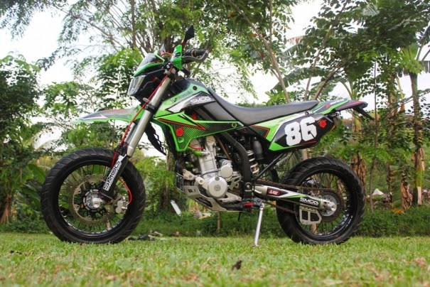 Modifikasi Motor Klx 250 Modifikasi Kawasaki Klx 250