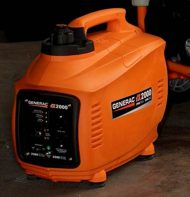 New RV Product: Generac iX Series of portable generators