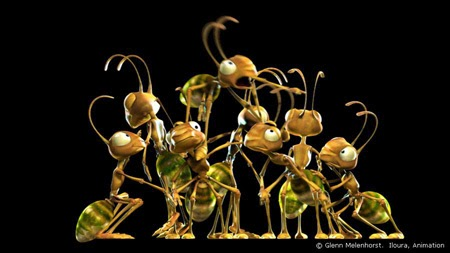 Cerita Motivasi Kerja dari  Semut dan Lalat