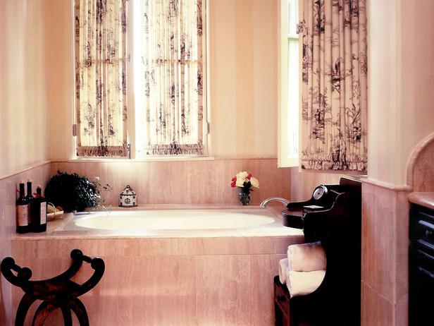 Photos de salles de bains m diterran ennes meuble et - Comment decorer sa salle de bain ...