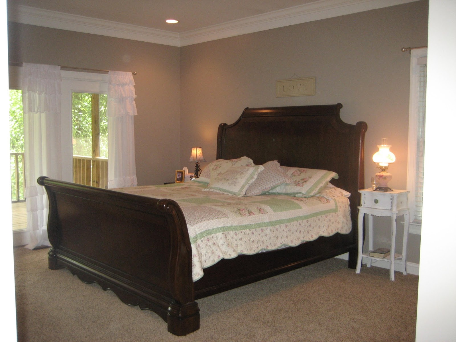 At Home In Frogs Hollow Master Suite Before And After
