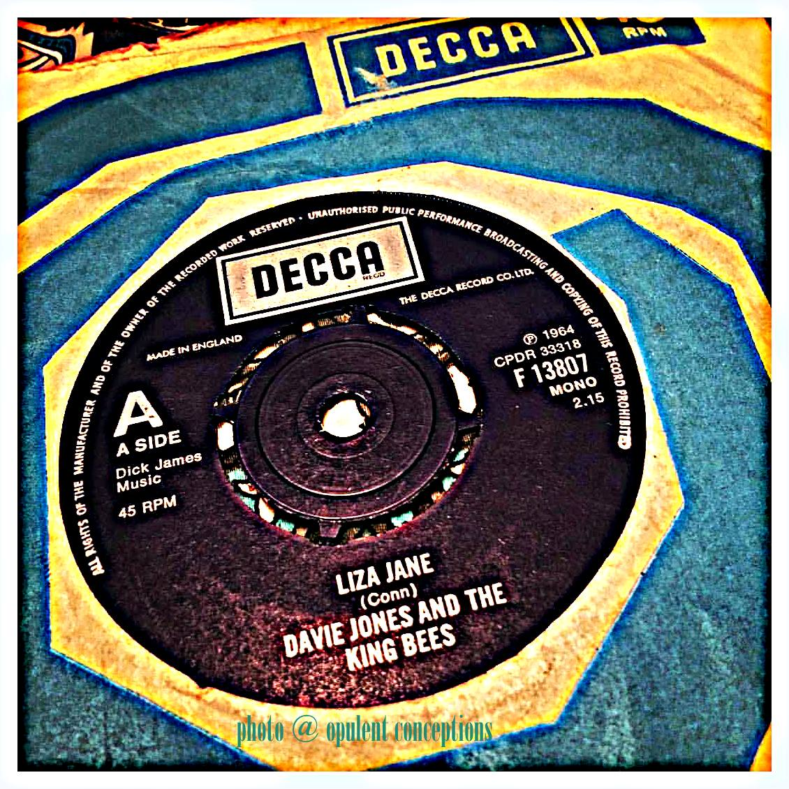 Davie Jones With The King Bees Liza Jane