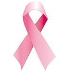 Llaç rosa contra el càncer de mama