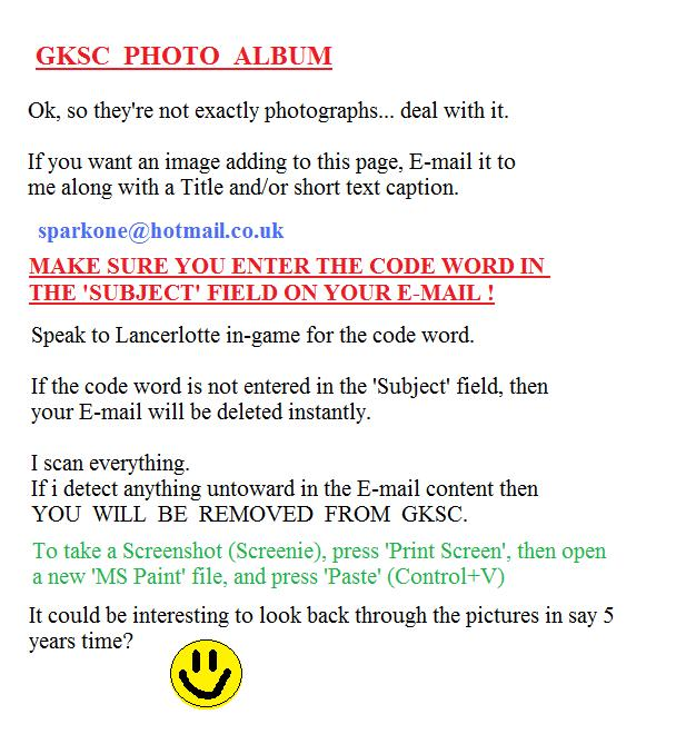 How to get your pic posted