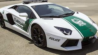 Dubai police Lamborghini Aventador