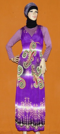 Gamis Kensi Korea Gkm4531 Diskon Grosir Baju Muslim