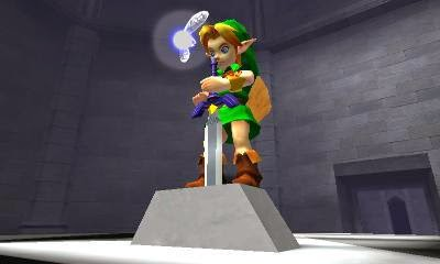 3DS The Legend of Zelda - Ocarina of Time 3D Screenshot