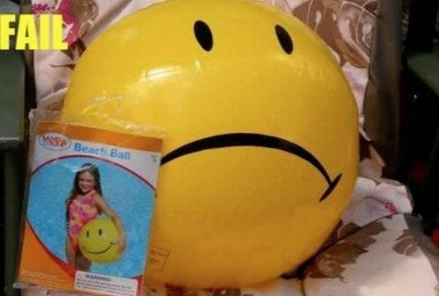 smile fail