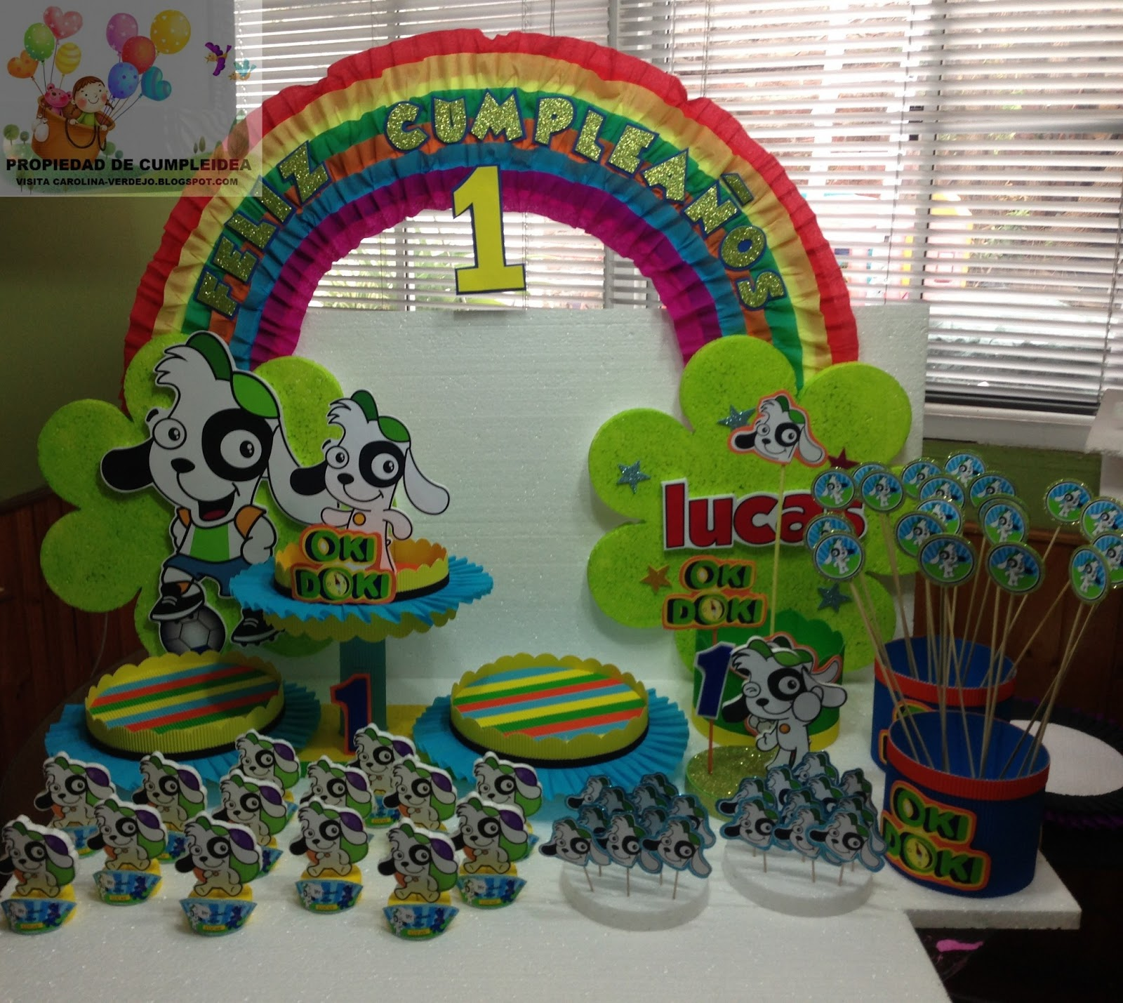 Decoraciones infantiles doki for Decoraciones infantiles