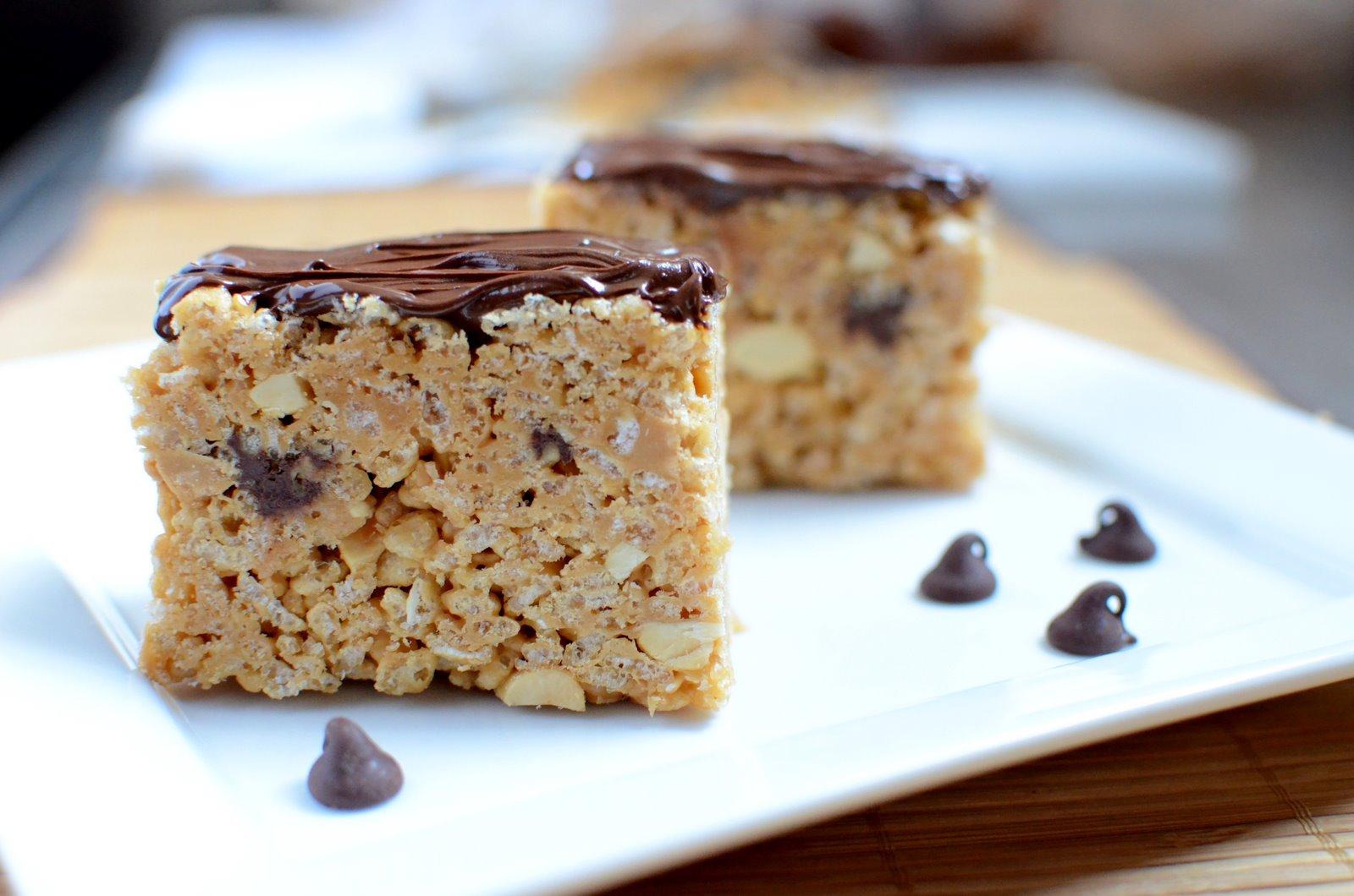 The Church Cook: Peanut Butter Rice Crispy Bars