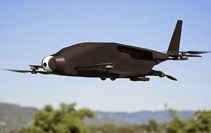 Skyprowler Pesawat yang tak butuh Landasan Pacu
