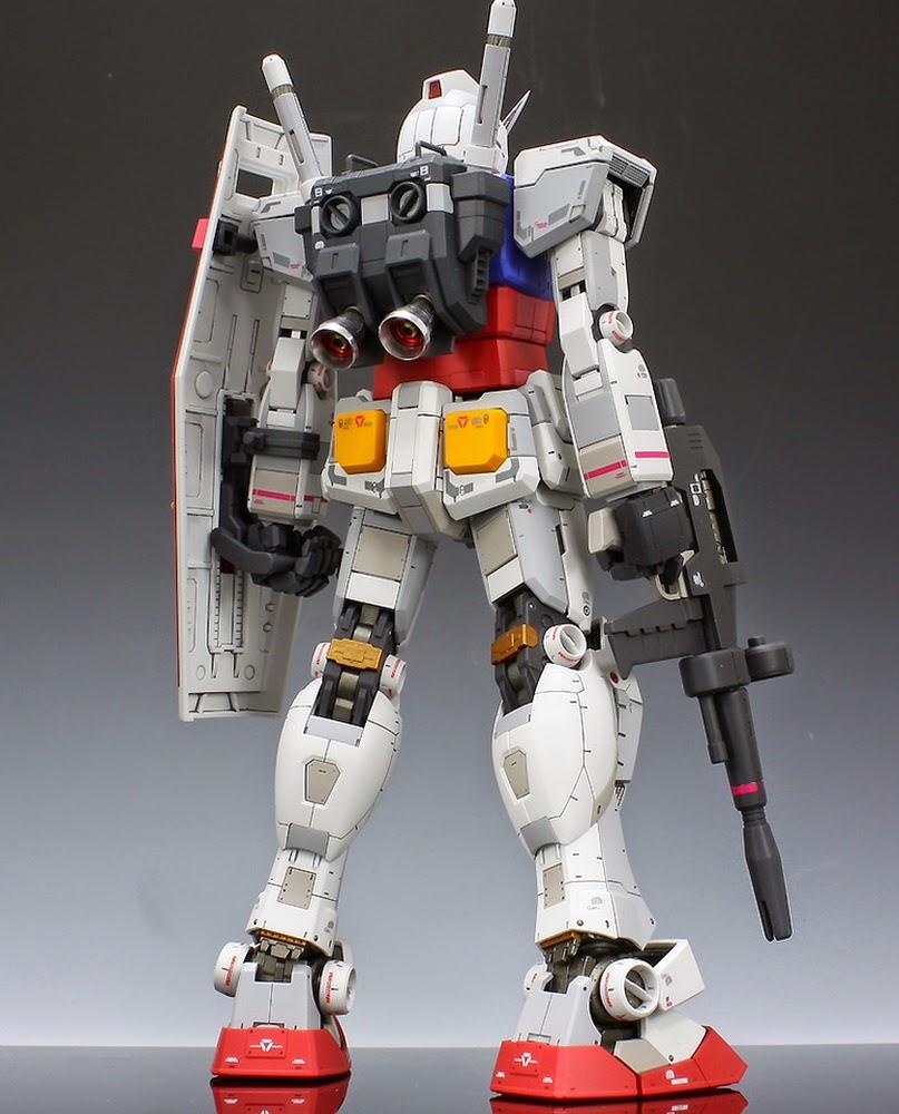 Custom Build: MG 1/100 RX-78-2 Gundam Ver. 3.0 Full ...