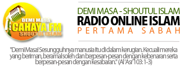 Cahaya FM | Radio Online Islam Pertama Sabah