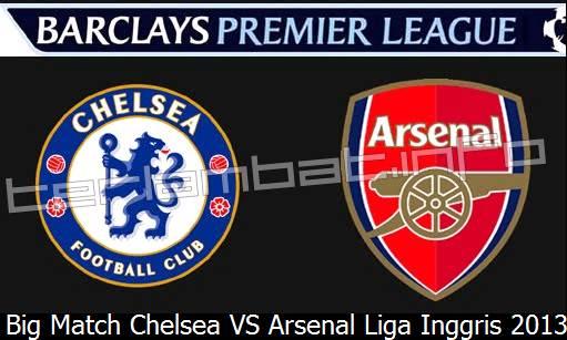 Hasil Chelsea VS Arsenal Liga Inggris 2013