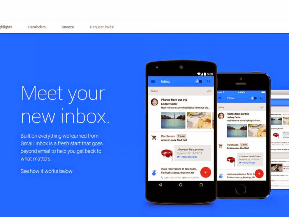 Google inbox Android
