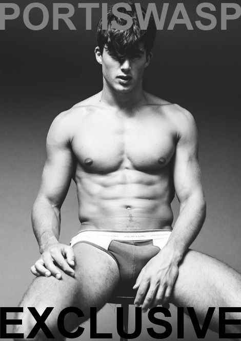 Pietro Boselli by Darren Black for Portis Wasp