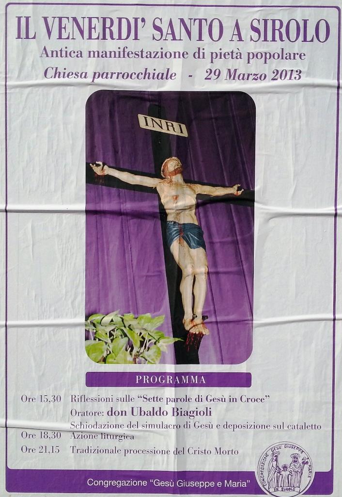 Venerdì Santo a Sirolo