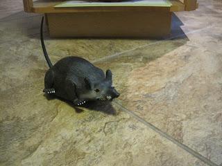 Plastic rat