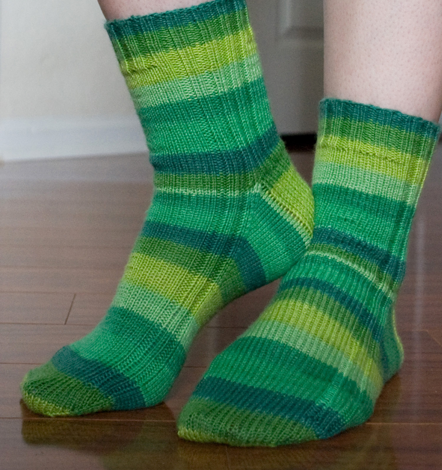 Easy Sock Knitting Pattern Free : My knitted heart vanilla socks