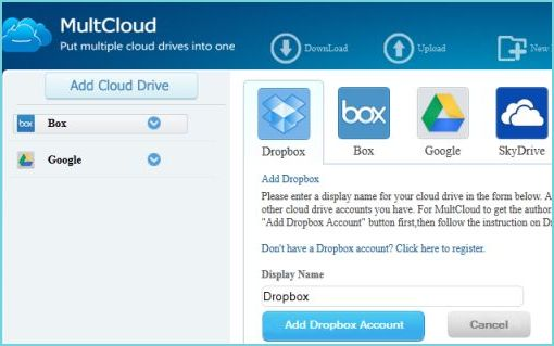 Manage Multiple Cloud Accounts at one place with MultCloud