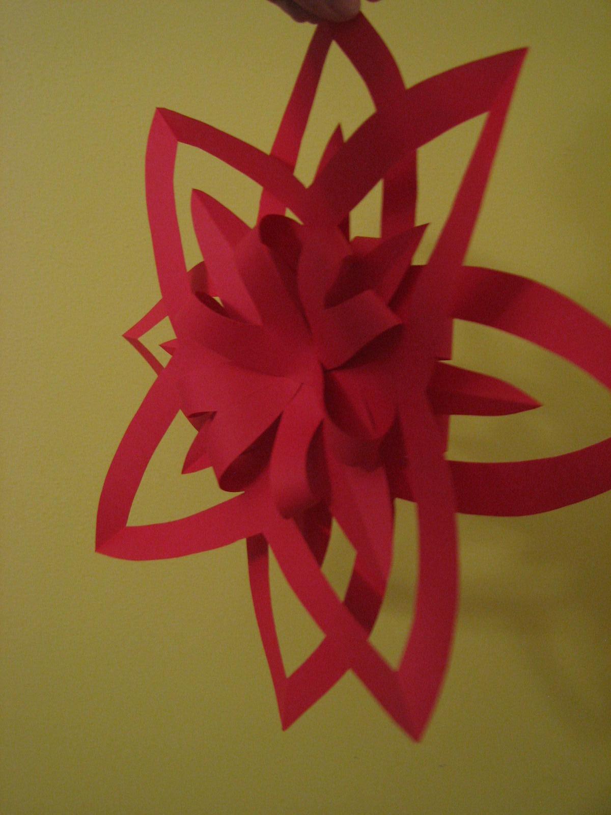 Top Les Projets Créatifs de Fleur de Paix: Autre étoile en papier ! OA76