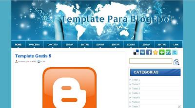 Template Blogspot 2 Colunas