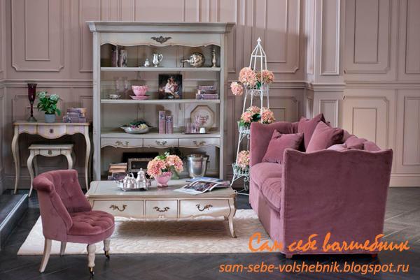 Стиль прованс в интерьере и декоре квартиры. Фото
