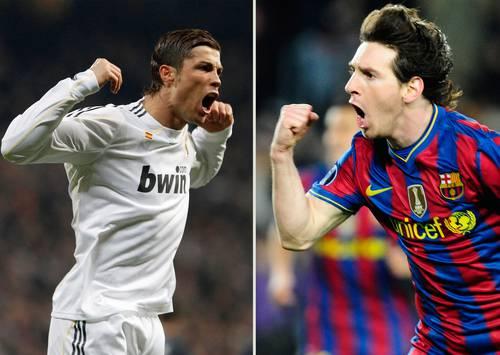 Os melhores do mundo CR e Messi