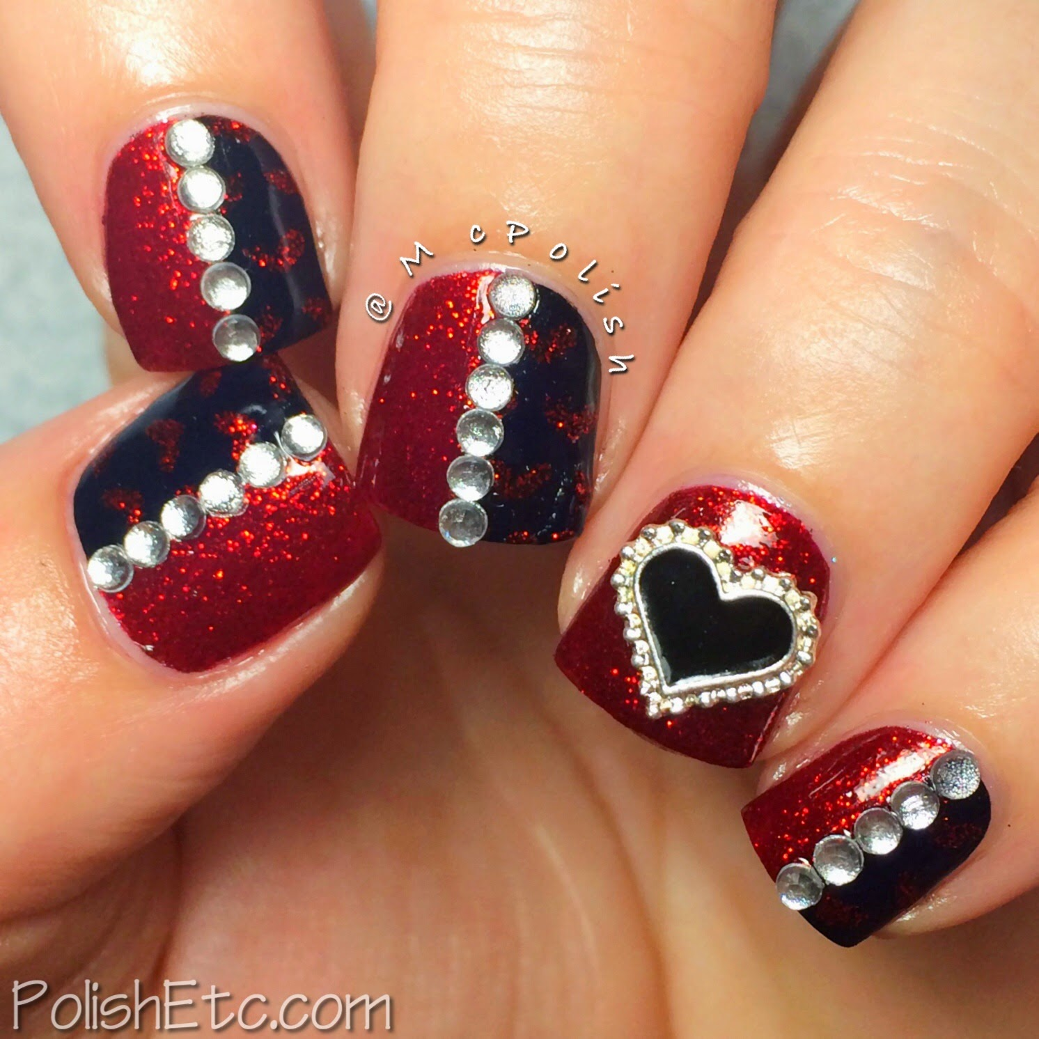 #31dc2014 - 31 Day Nail Art Challenge 2014 by McPolish - RED
