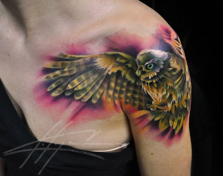 Tattoo Ideas For Girls On Shoulder