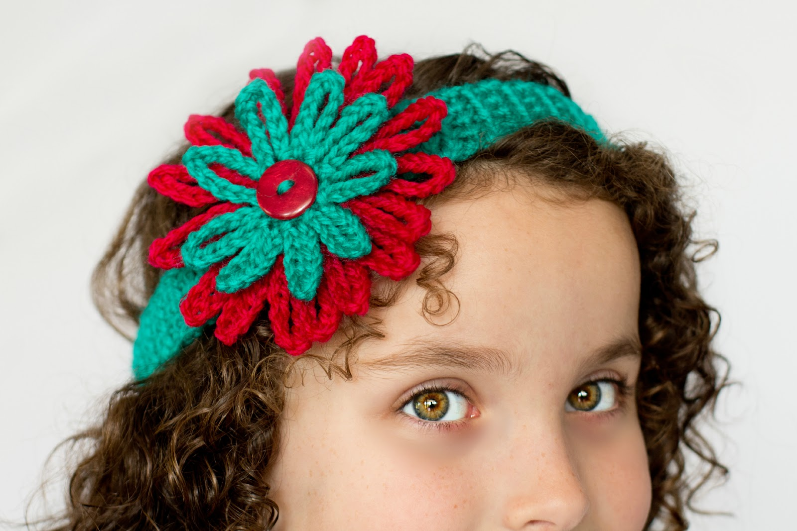 Headband & Flower Pattern Interweave