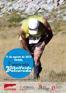 carrera villafeide Polvoreda www.mediamaratonleon.com