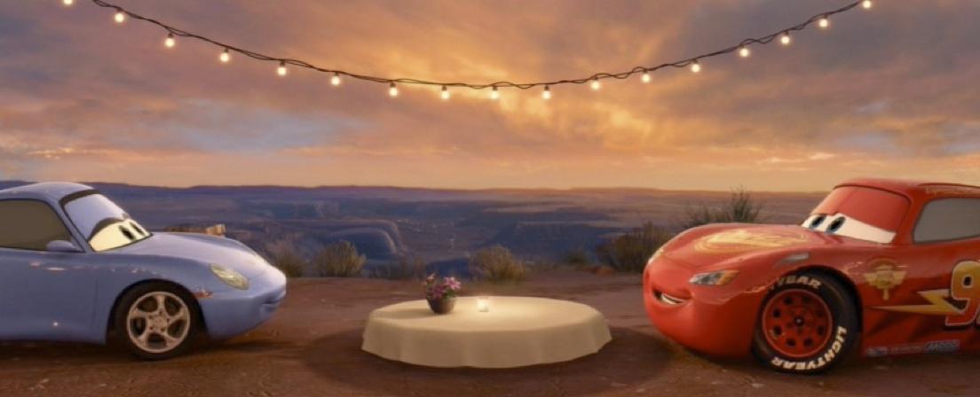 Dan The Pixar Fan Cars 2 Hudson Hornet Lightning Mcqueen Amp Sally 2 Pack Date Night