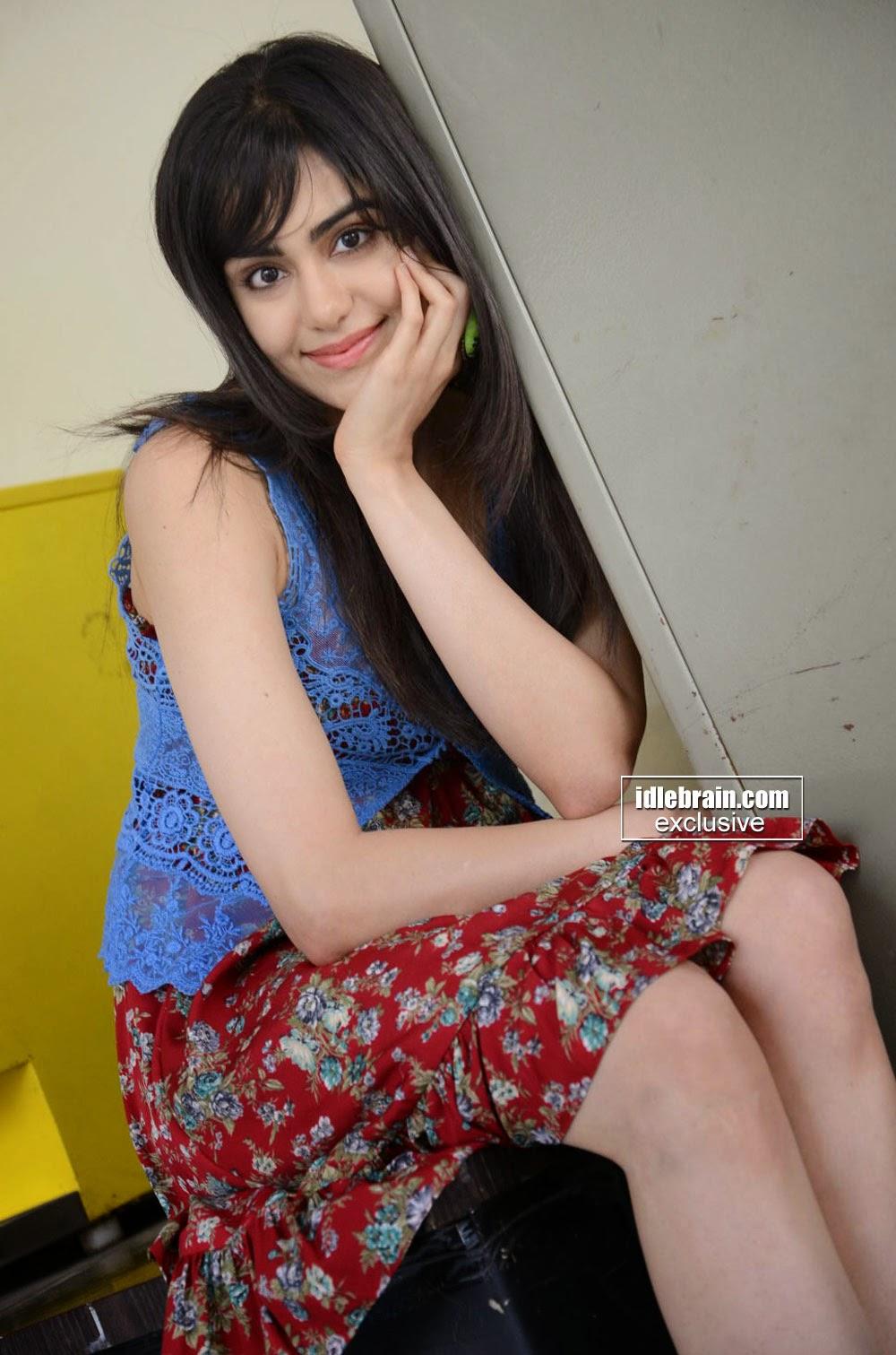 Adah Sharma short skirt